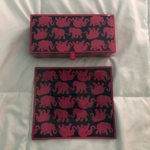 Lilly Pulitzer Jewelry Box and Dish